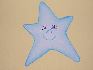 Habitación Daniel Estrella Azul